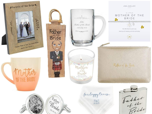 Wedding Gifts | Parents of the Bride & Groom