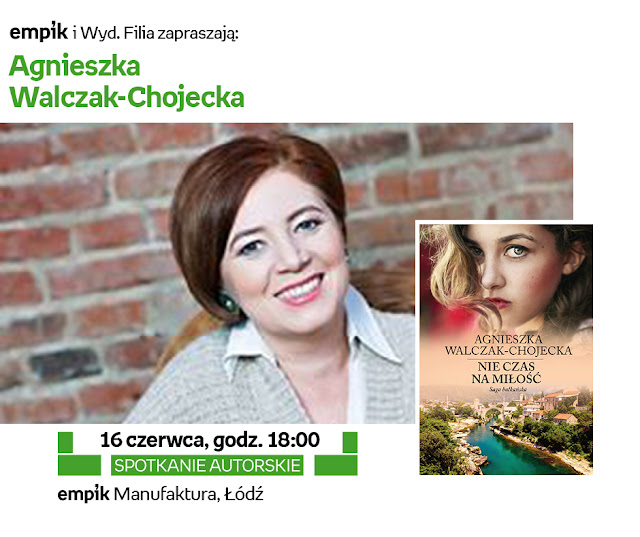 Agnieszka Walczak-Chojecka odwiedzi łódzki Empik!