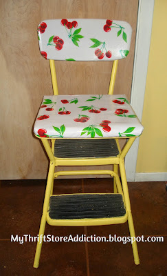 Upcycled Cosco stool