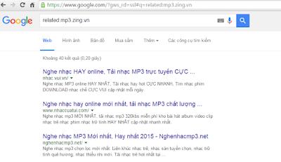 trang web tìm kiếm tương tự