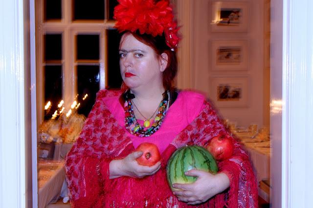 msmarmitelover as Frida Kahlo at her supperclub