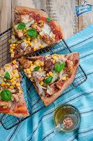 Pizza z kurczakiem gyros