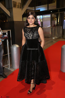 Niveda Thomas Black Sleeveless Cute Dress at 64th Jio Filmfare Awards South 2017 ~  Exclusive 132.JPG