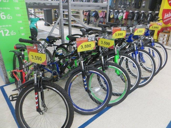 Цены на велосипеды в БигС