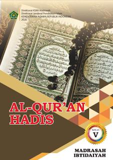 Buku Al Quran Hadis SD/MI Kelas 1 2 3 4 5 6 Kurikulum 2013 Versi Final 2020