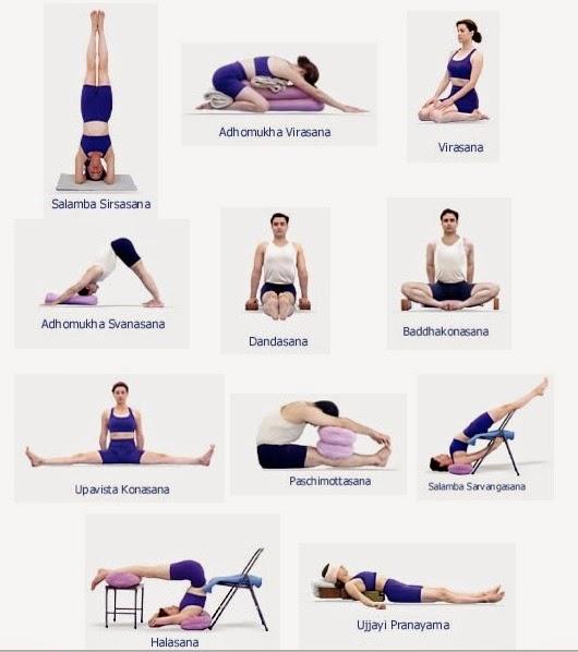 Poses Y Posturas De Yoga Para Principiantes Yoga Encasa