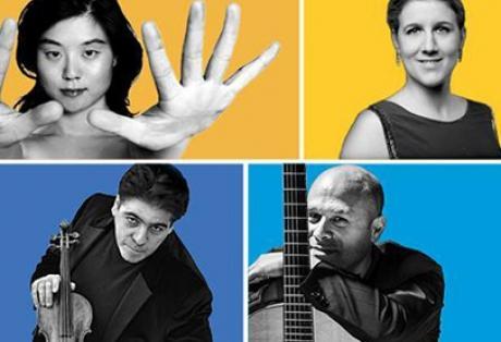 Σαββατόβραδο με τέσσερις κορυφαίους ξένους βιρτουόζους σολίστες