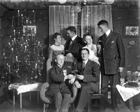 Vintage Christmas Photographs Predating 1920 Vintage
