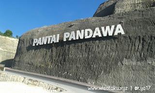 Pantai Pandawa Pulau Bali