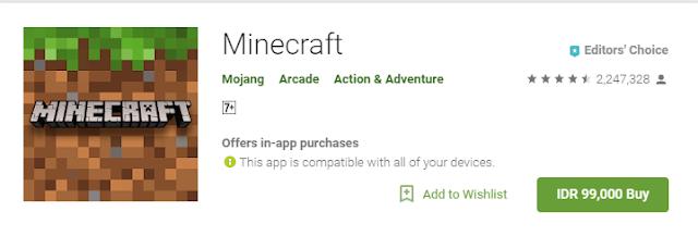 minecraft pocket edition berbayar resmi