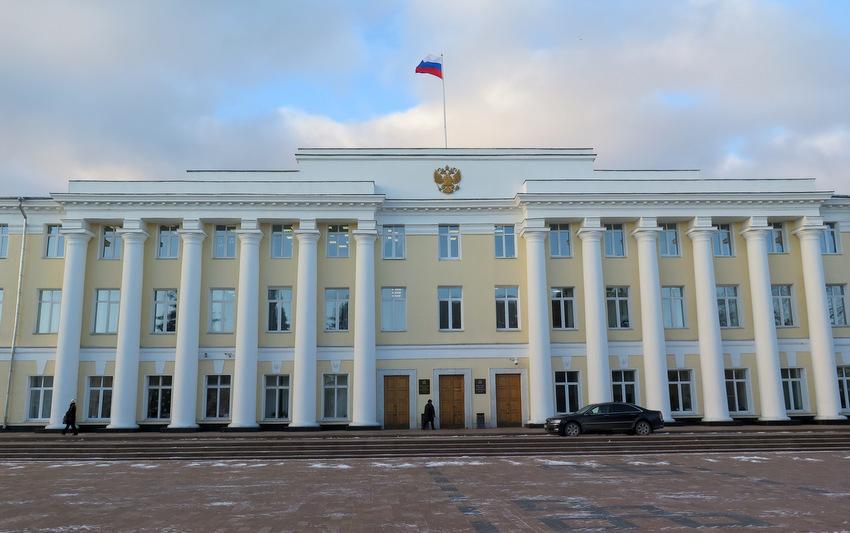 Законодательное собрание, бывшее здание Присутственных мест
