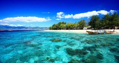 Pantai Sengigi, wisata populer lombok
