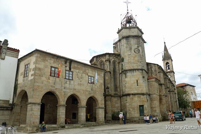 Pazo de Bendaña e Iglesia de Santiago, Betanzos