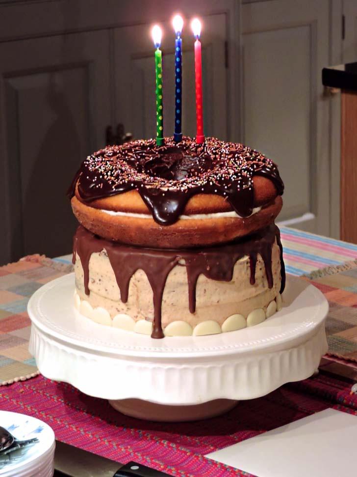 Amazing Giant Birthday Cake Personalised Birthday Cards Fashionlily Jamesorg
