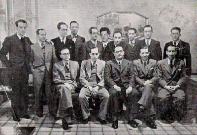 Equipo del Club Ajedrez Barcelona en 1935