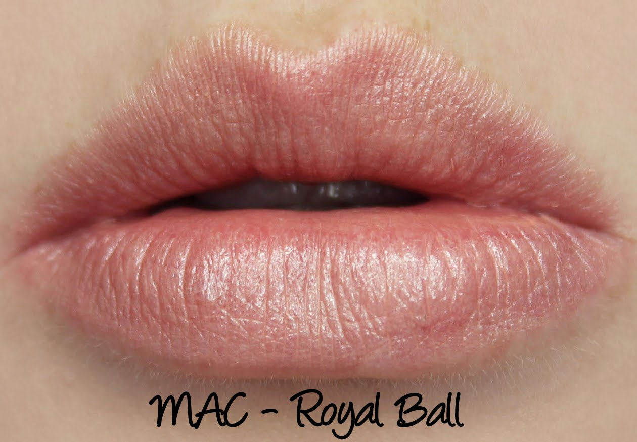 MAC Cinderella: Royal Ball Lipstick Swatches & Review