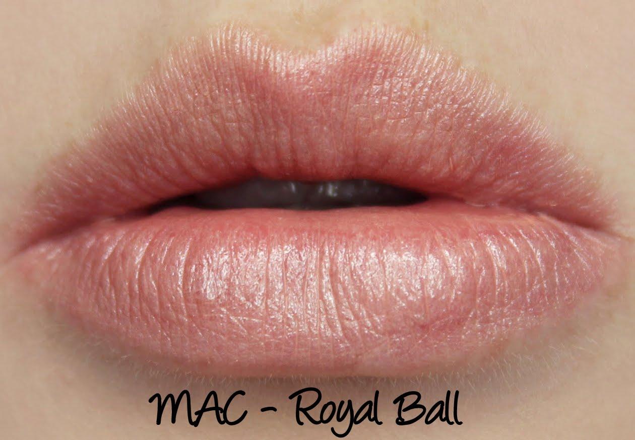 MAC Cinderella: Royal Ball Lipstick Swatches & Review