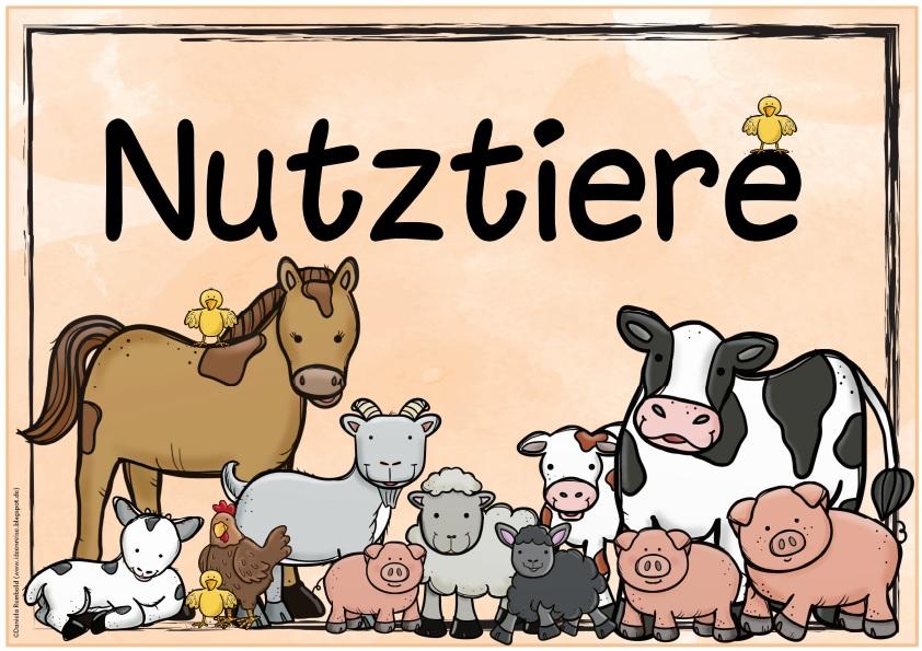 Erfreut Nutztier Malvorlagen Zeitgenössisch - Beispiel ...
