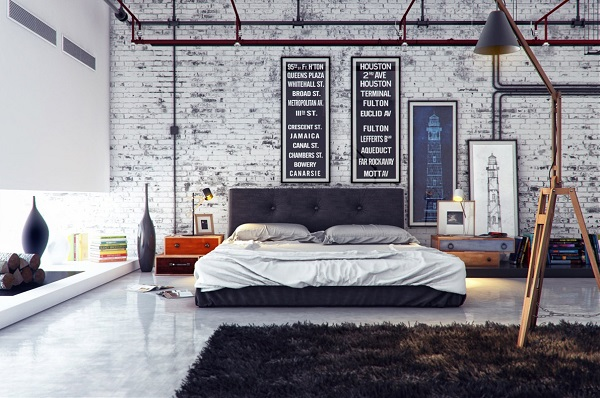 Tips to Create an Industrial Style Bedroom 10