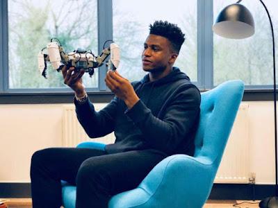Nigerian Becomes World's Highest Paid Robotics Engineer (Pics)