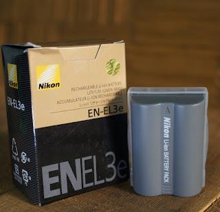 Jual Baterai Nikon D80, D90, D70, D200, D300 EN-EL3 / EN-EL3E