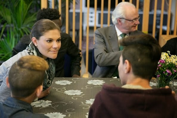 Princess Victoria Visits The Swedish Migration Agency