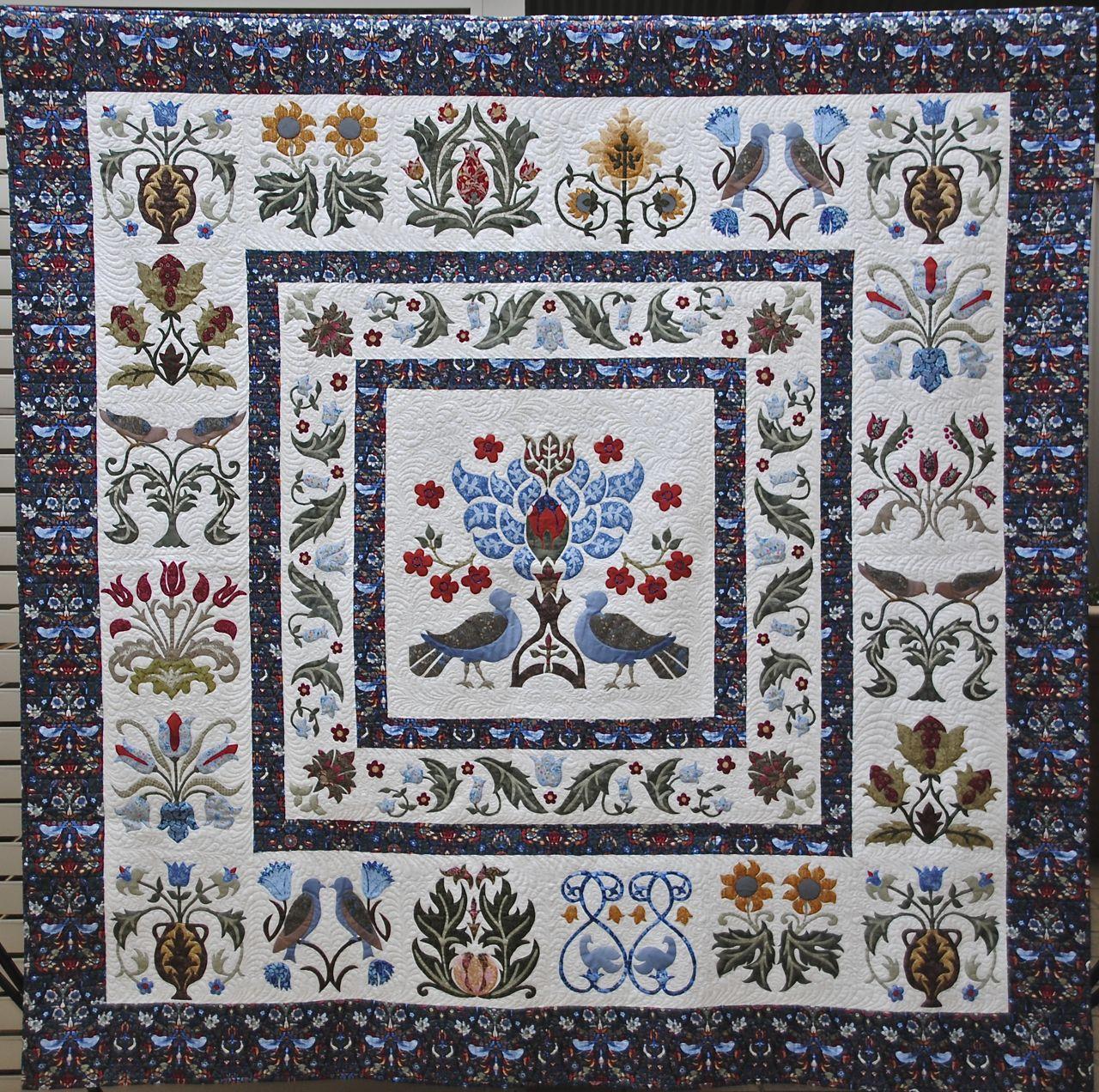 William Morris in Quilting: Quilt Gallery and Patterns : william morris quilt patterns - Adamdwight.com