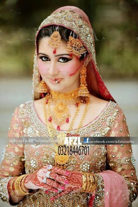 Stylevia Newest Wedding Create Up 2014 Unique Pakistani
