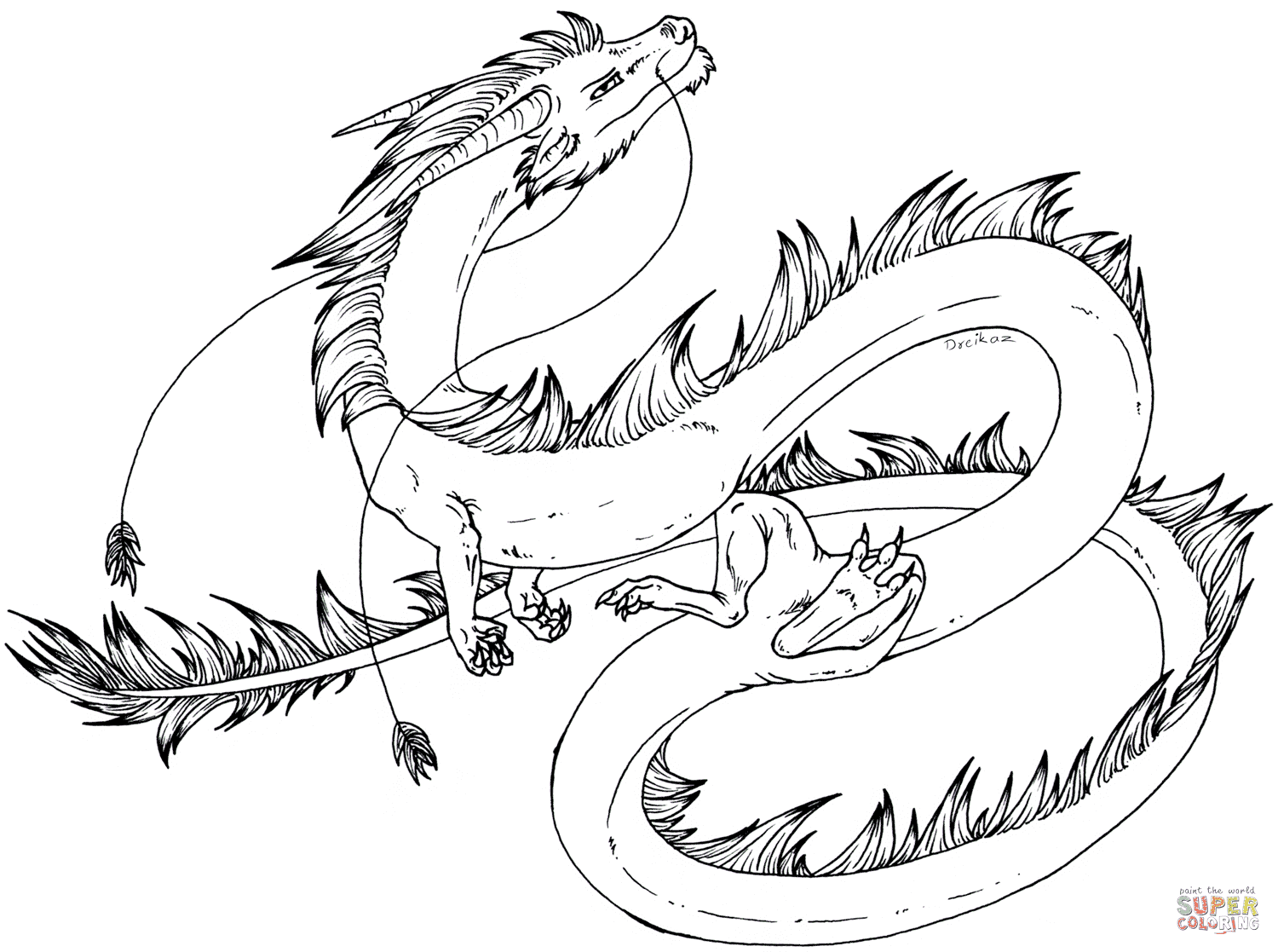 best realistic dragon coloring pages images coloring