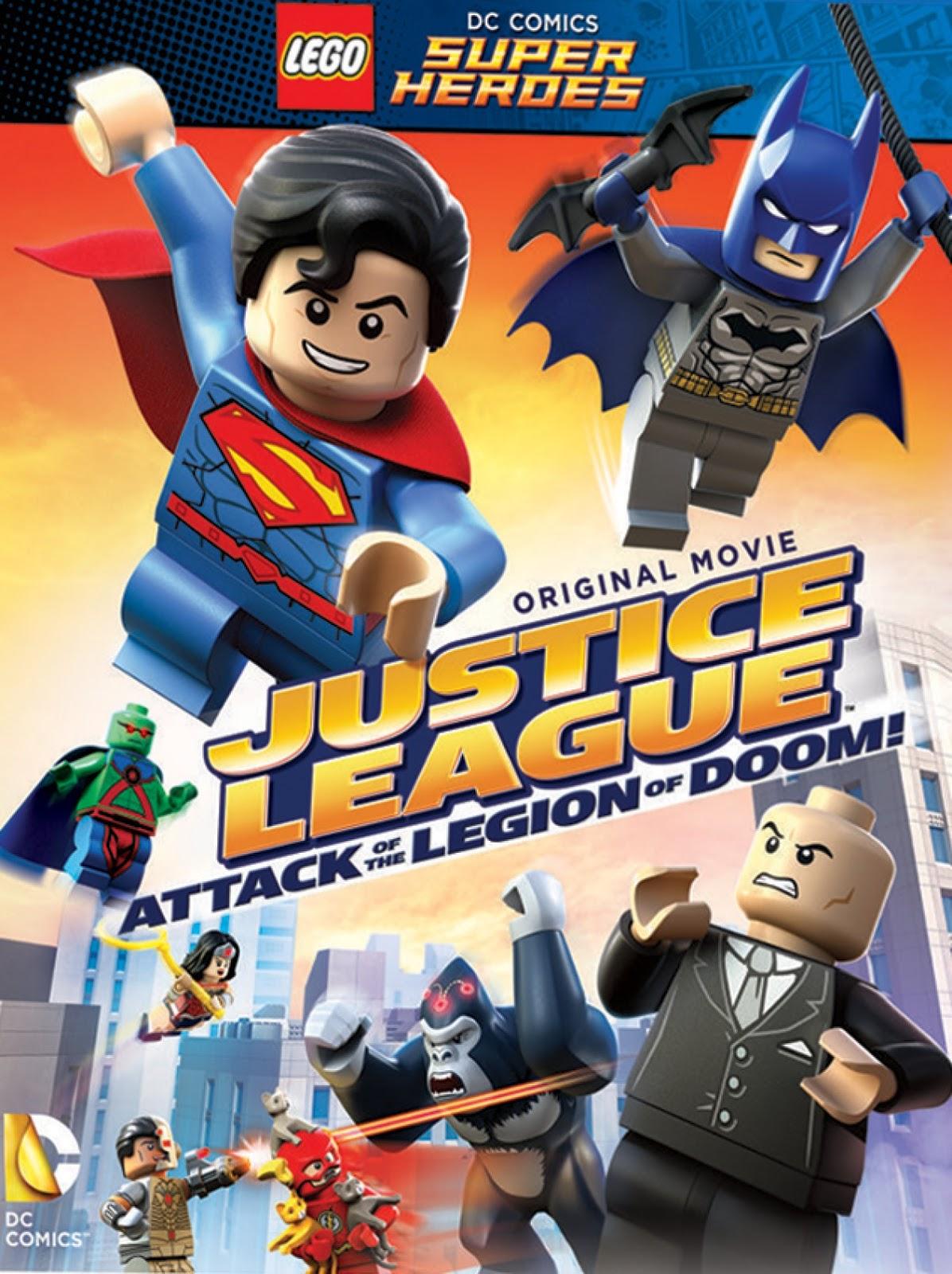 Justice League : Attack of the Legion of Doom! จัสติซ ลีก ถล่มกองทัพลีเจียน ออฟ ดูม [HD][พากย์ไทย]
