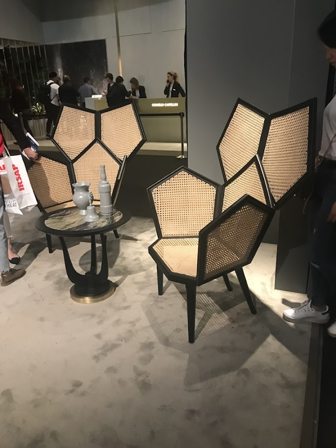 Muebles vistos en Milán