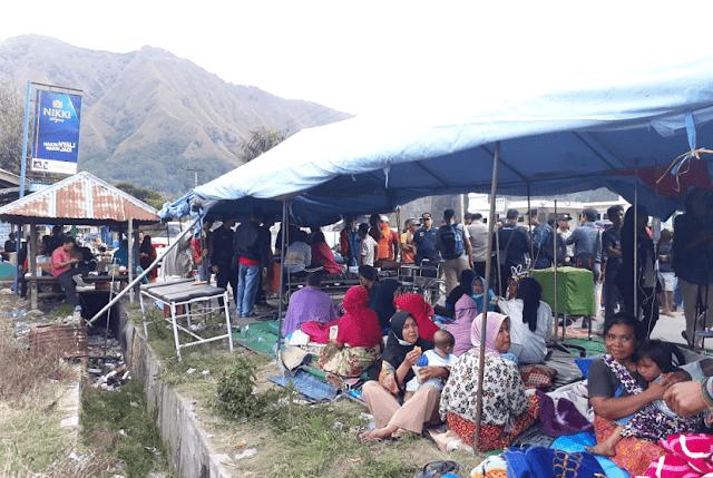 Lombok Diguncang Gempa, 15 Orang Meninggal Dunia