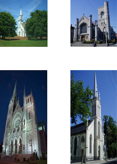 Gothic Revival Churches in Canada