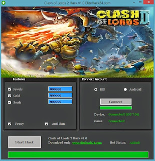 Clash of Lords 2 Hack Tool Download