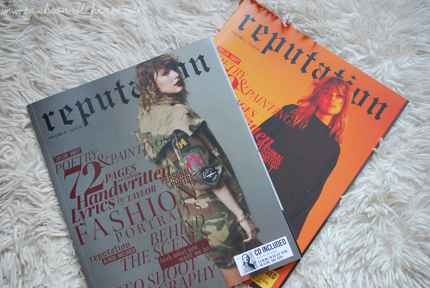 bbloggers, bbloggersca, canadian beauty bloggers, beauty blog, lbloggers, what i got for christmas, gifts, holiday, 2017, taylor swift, reputation, magazine, album, tswift, snake