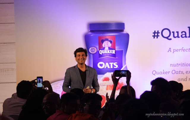 chef-vikas-khanna-at-quaker-oats-indiblogger-meet-april-2016-mumbai-myindianversion