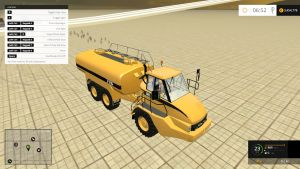 CAT 725A water and liquid manure truck