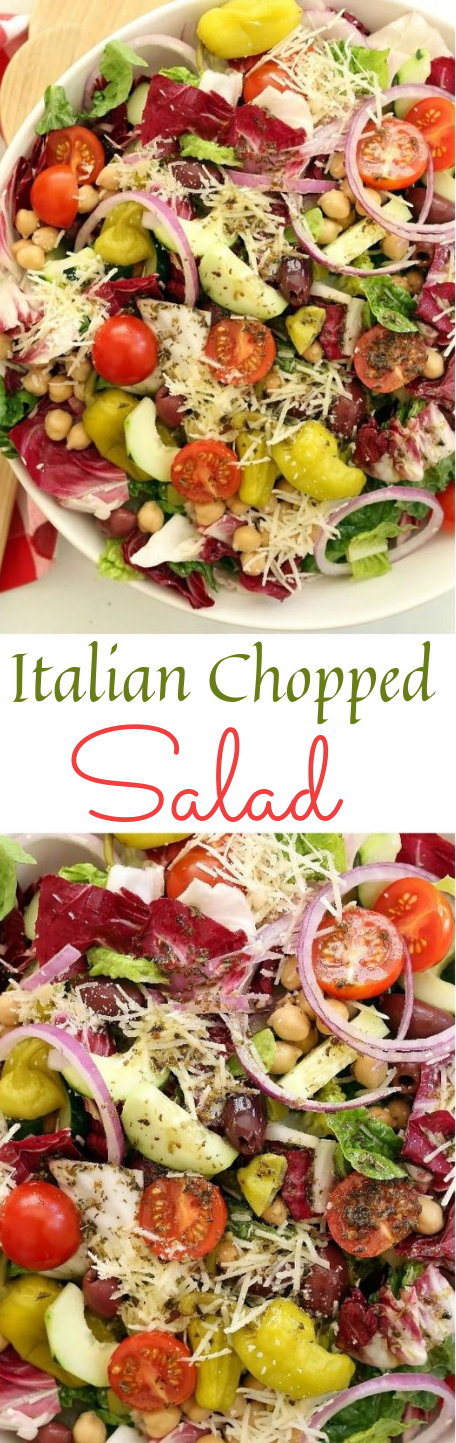 ITALIAN CHOPPED SALAD #salad #diet