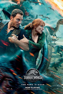 Jurassic World: Fallen Kingdom (2018) : Dual Audio English & Hindi : HD-RIP 720p 480p