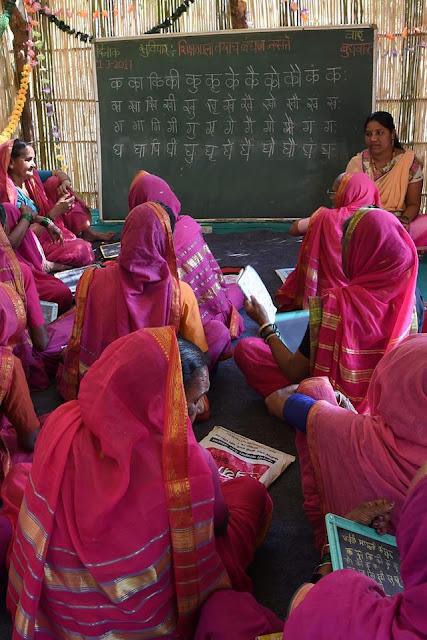 School for Grannies in India