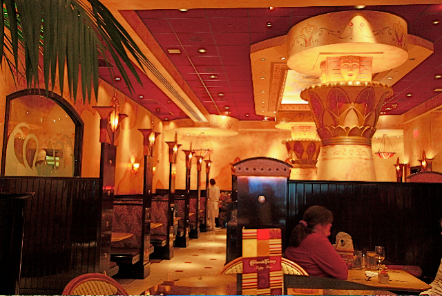 Restaurante Cheesecake Factory em Las Vegas