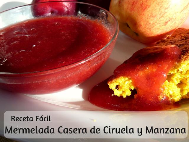 Mermelada Casera de Ciruela y Manzana