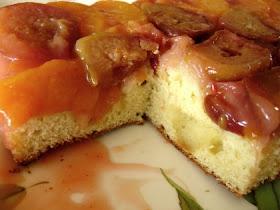 Mystery Lovers Kitchen Farmhouse Peach Cake