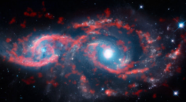 Colliding Galaxies IC 2163 • NGC 2207