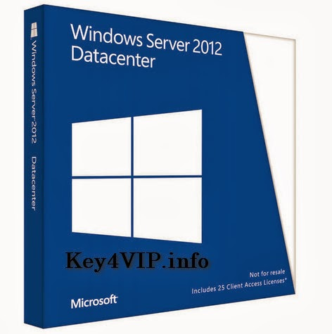 Bán key bản quyền Windows Server 2012 Datacenter