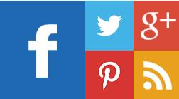 Κουμπια κοινωνικης δικτυωσης μετρο στυλ