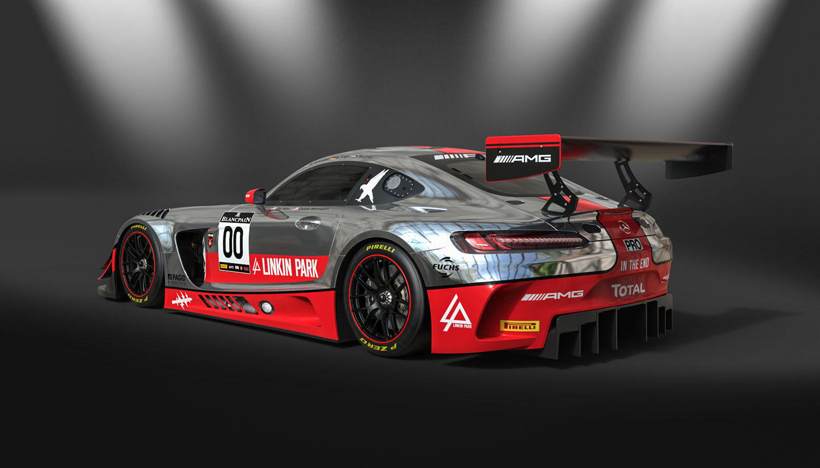 Linkin Park's Mercedes-AMG GT3 Looks Cool But Didn't Fare ...