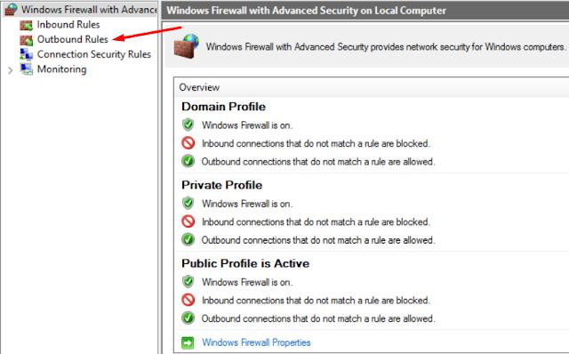 Cara Memblokir Akses Internet Aplikasi Windows 10 Tanpa Aplikasi Pihak Ketiga 6