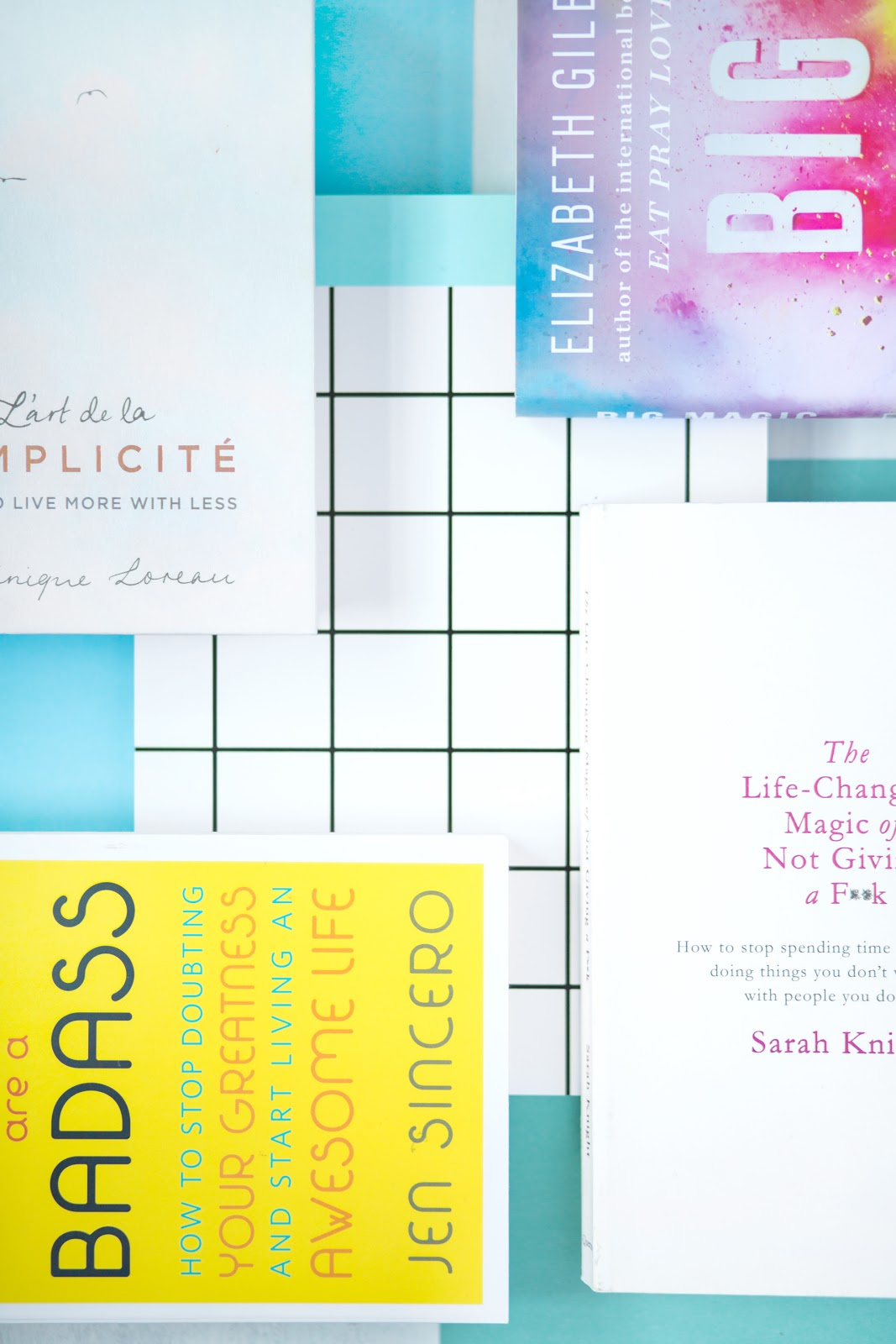 4 SELF BOOKS YOU NEED IN YOUR LIFE ASAP