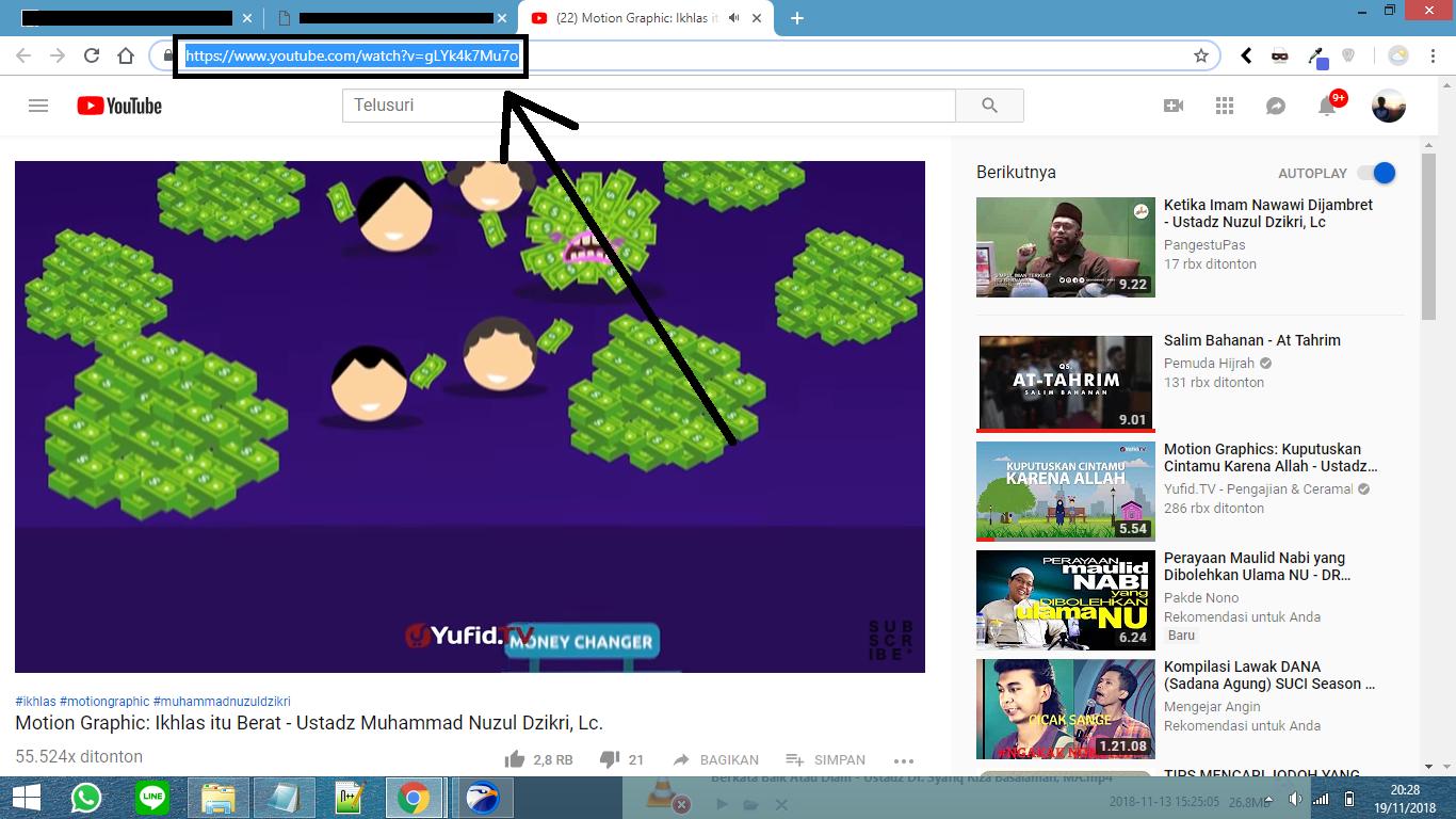 Cara Memangkas Video Youtube Secara Online